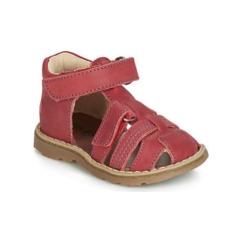 GBB SEVILLOU boys's Children's Sandals in Red