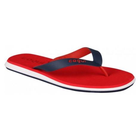 Coqui KARE red - Men's flip-flops