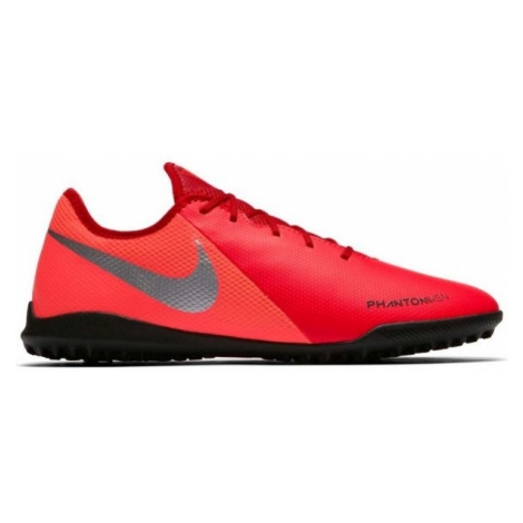 Nike PHANTOM VISION ACADEMY TF red - Men's turf football boots