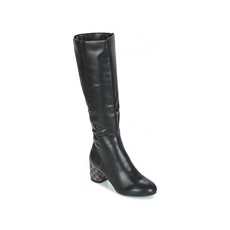 Moony Mood JISMIA women's High Boots in Black