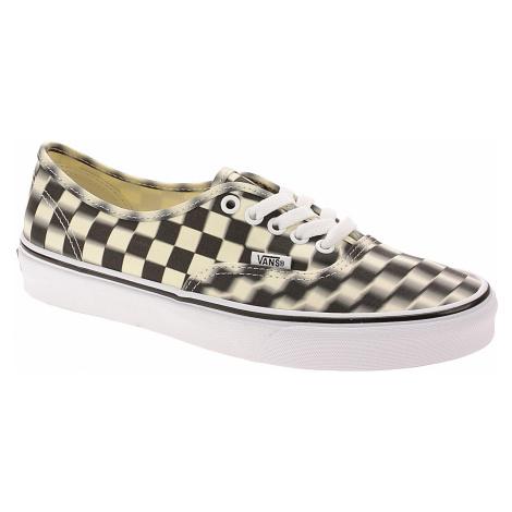 shoes Vans Authentic - Blur Check/Black/Classic White
