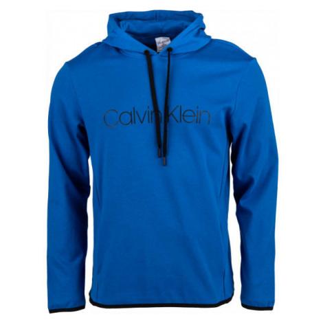 Calvin Klein L/S HOODIE blue - Men's sweatshirt