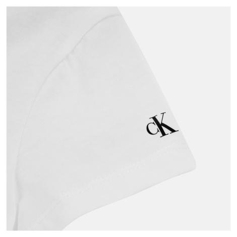 Calvin Klein Girls' Institutional T-Shirt - Bright White