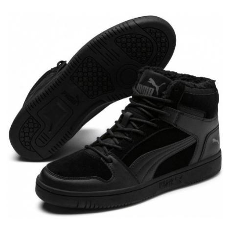 Puma REBOUND LAYUP SD FUR black - Men's leisure footwear