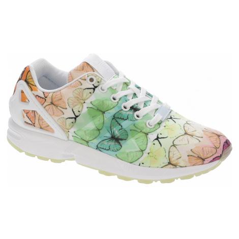 shoes adidas Originals ZX Flux - White/White/Linen Green