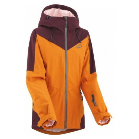 KARI TRAA BUMP orange - Women's skiing jacket