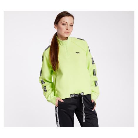 FILA Ugur Half Zip Shirt Sharp Green