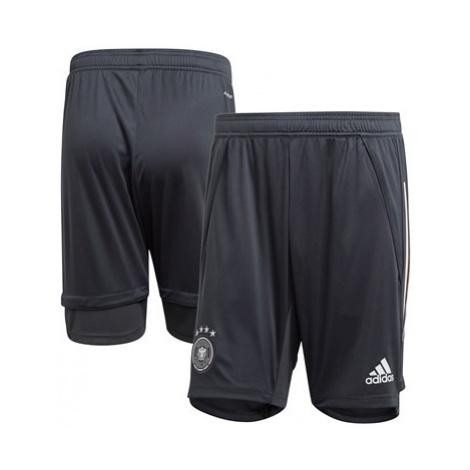 Germany Training Shorts - Dk Grey Adidas