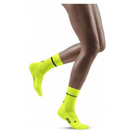 CEP Neon Compression Mid Cut Women's Socks - SS21