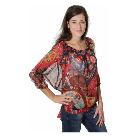 shirt Desigual 67B23D9/Natalia LS - 5000/Navy