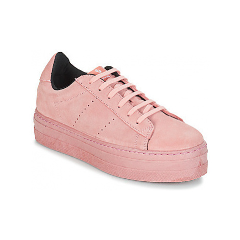 Victoria DEPORT SERRAJE MONOCOLOR women's Shoes (Trainers) in Pink