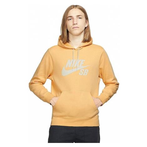 sweatshirt Nike SB Icon Essential Pullover - 251/Celestial Gold/Summit White - men´s