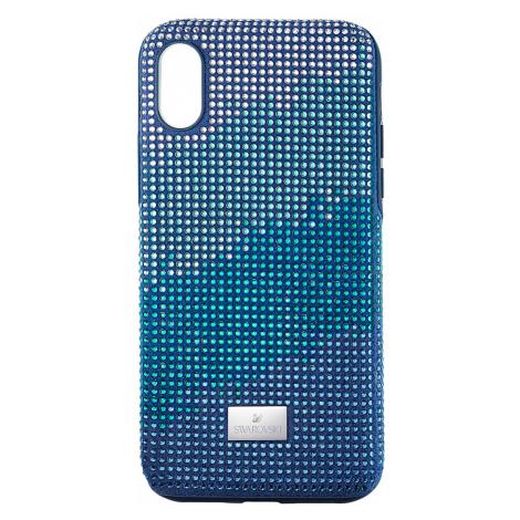 Crystalgram Smartphone Case with Bumper, iPhone® XS Max, Blue Swarovski