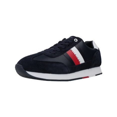 Tommy Hilfiger FM0FM02380 men's Shoes (Trainers) in Blue