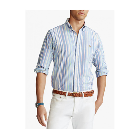 Polo Ralph Lauren Stripe Oxford Shirt, Run On Multi