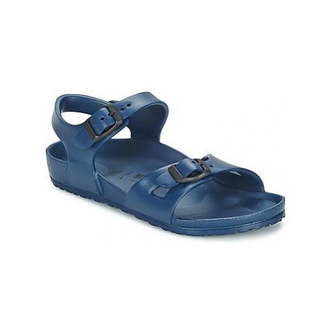 Birkenstock RIO EVA girls's Children's Sandals in Blue