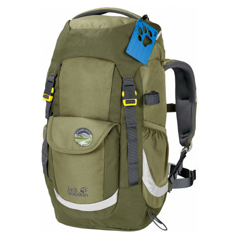 backpack Jack Wolfskin Explorer 20 - Khaki - unisex junior