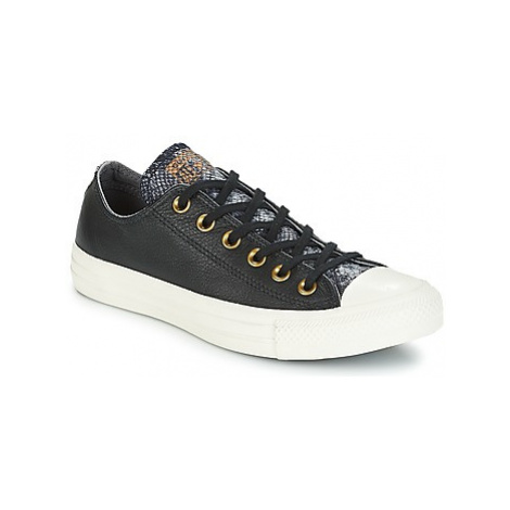 Converse CHUCK TAYLOR ALL STAR OX women's Shoes (Trainers) in Black