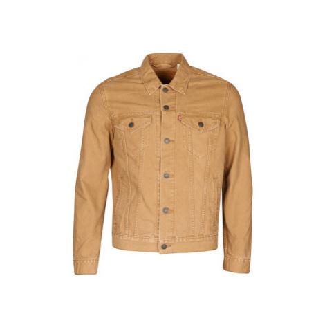 Levis THE TRUCKER JACKET men's Denim jacket in Beige Levi´s