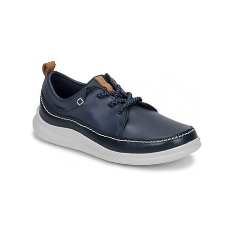 Clarks Cloud Blaze K boys's Children's Casual Shoes in Blue