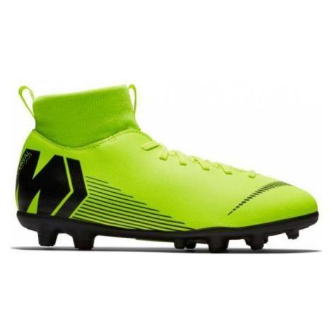 Nike JR MERCURIAL SUPERFLY 6 CLUB MG green - Kids' football boots