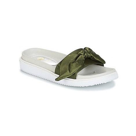 Replay GHOST women's Mules / Casual Shoes in Kaki
