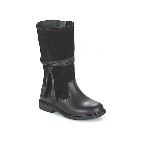 Pablosky GRITEJE girls's Children's High Boots in Black