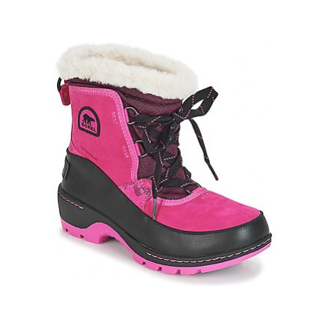 Sorel YOUTH TORINO™ III CAMO girls's Children's Snow boots in Pink