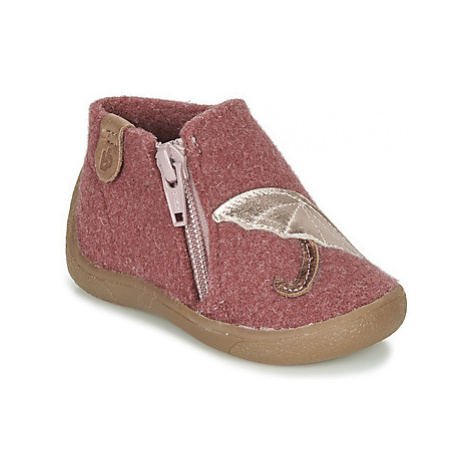 Babybotte MARIE girls's Children's Slippers in Pink