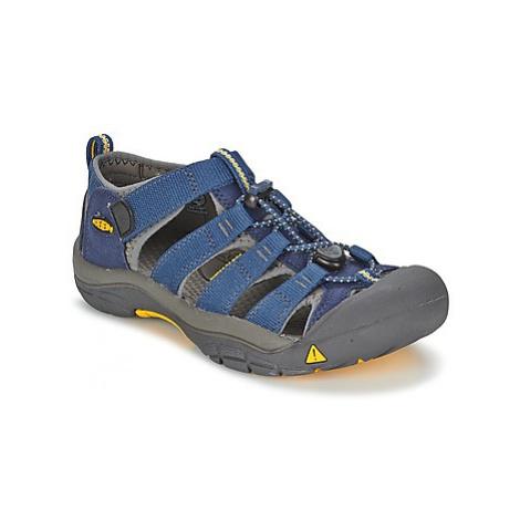 Keen KIDS NEWPORT H2 boys's Children's Sandals in Blue