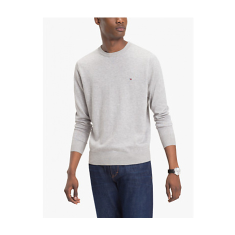 Tommy Hilfiger Cotton Silk Crew Neck Jumper