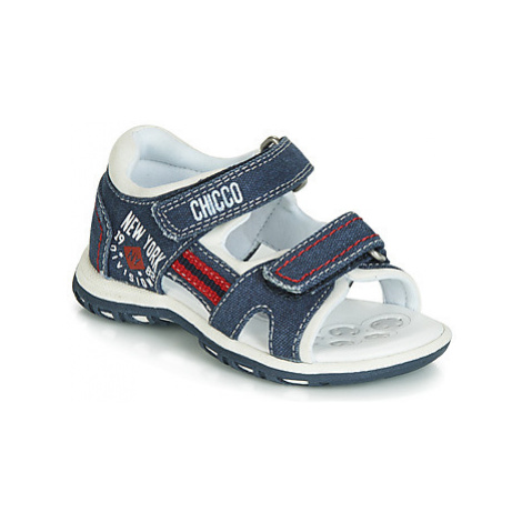 Chicco CROW boys's Children's Sandals in Blue