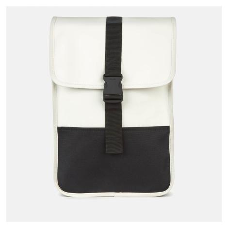 Rains Men's Buckle Backpack Mini - Off White
