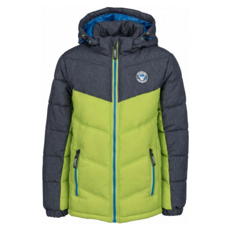 Lewro ILAYA green - Children's quilted jacket