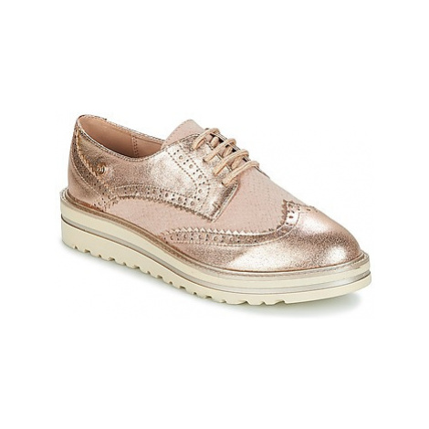 Xti COCEE women's Casual Shoes in Gold
