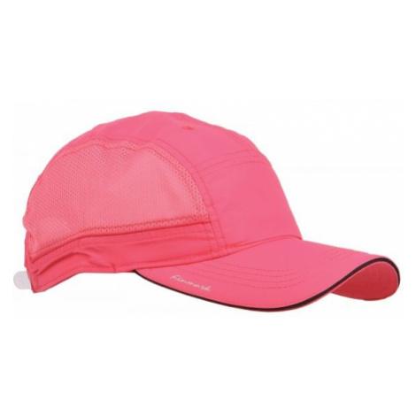 Finmark SUMMER CAP pink - Summer baseball cap