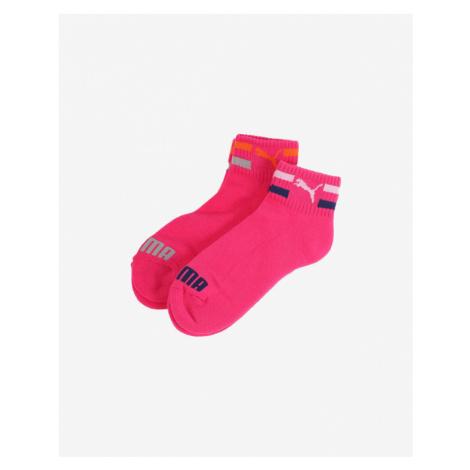Puma Kids Socks 2 pairs Pink