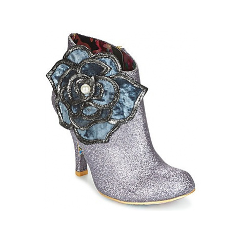 Irregular Choice PEARL NECTURE women's Low Boots in Silver