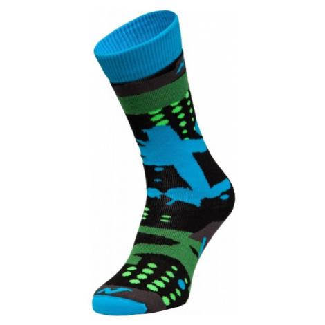 Nordica FREESKI BASIC BOY black - Children's ski socks