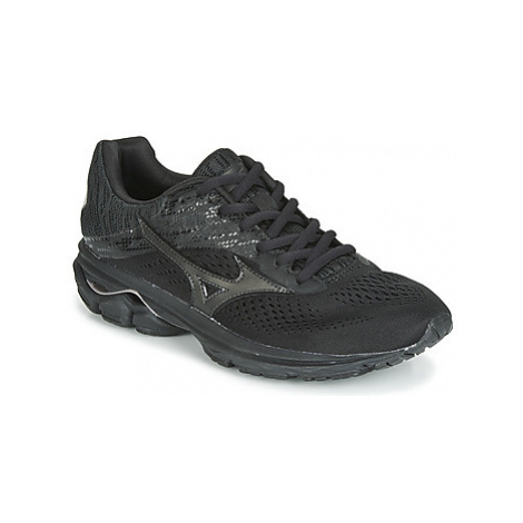 Mizuno WAVE RIDER 23 women's Running Trainers in Black