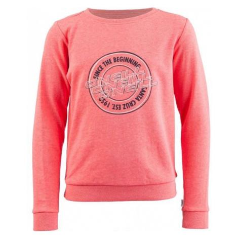 O'Neill LG ONEILL SWEATSHIRT red - Girls' sweatshirt