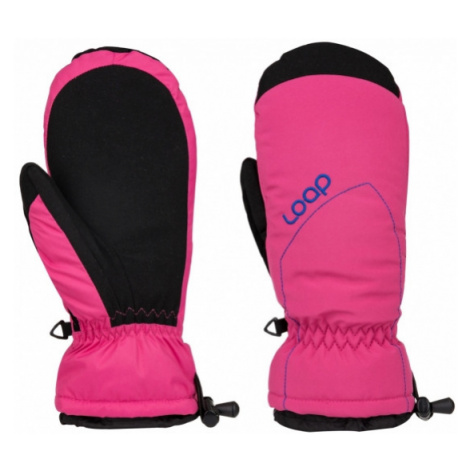 Loap RAKELX pink - Women's gloves