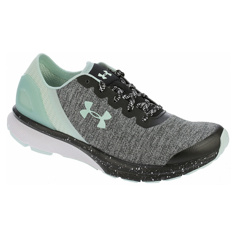 shoes Under Armour Charged Escape - 002/Black/White/Refresh Mint
