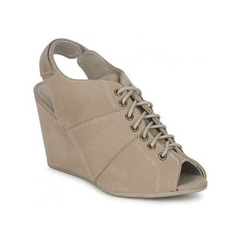 No Name DIVA OPEN TOE women's Low Boots in Beige