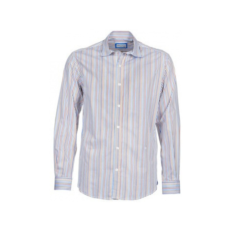Serge Blanco DORILANDO men's Long sleeved Shirt in Blue