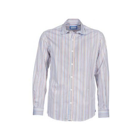 Serge Blanco DORILANDO men's Long sleeved Shirt in Blue