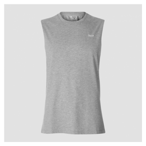 MP Essentials Drop Armhole Tank - Grey Marl Myprotein