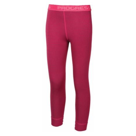 Progress MS SDND pink - Long kids' tights