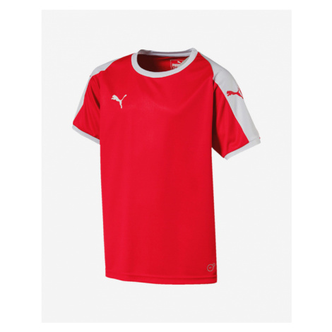 Puma Liga Kids T-shirt Red Colorful