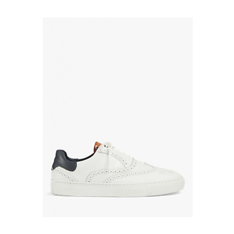Ted Baker Dennton Leather Brogue Detail Trainers